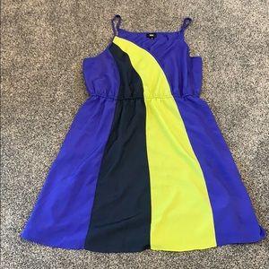 Mossimo Colorblock Wrap Dress